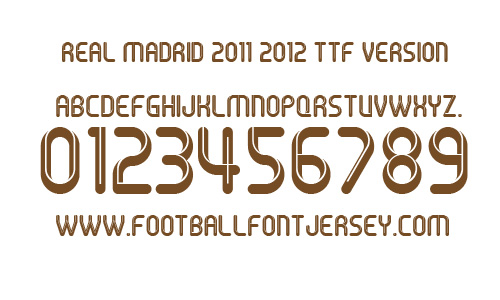 FREE FONT Archives - Football Font Jersey