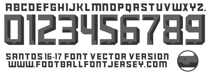 Football Font Jersey - Page 3 of 16 - VECTOR AND TTF FOR