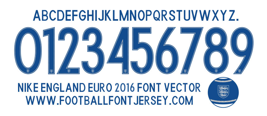 ENGLAND-EURO-2016-FONT-VECTOR-DOWNLOAD