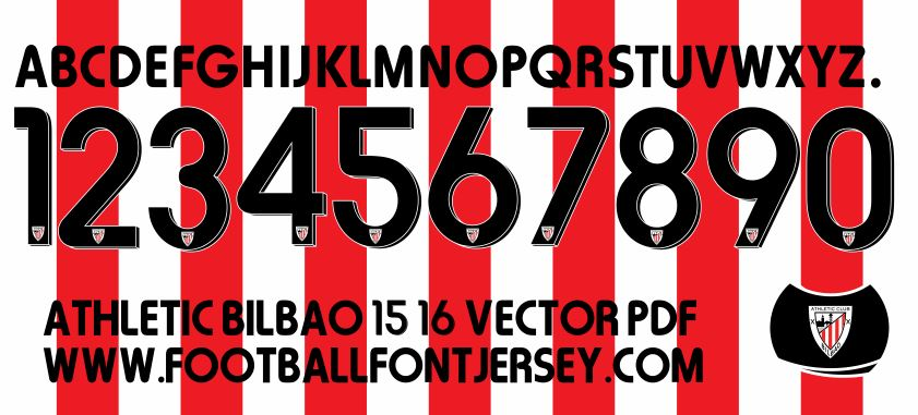 ATHLETIC-BILBAO-FONT-2015-2016-VECTOR